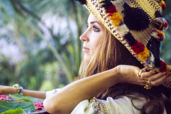 Modern muse ... actress Talitha Getty inspired We Are Kindred's resort collection.