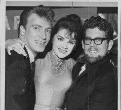 Patsy Ann mit Frank Ifield und Rolf Harris im Jahr 1963.