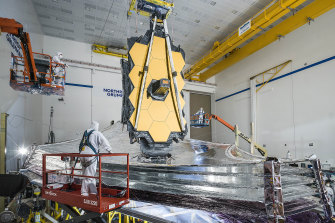 James Webb Space Telescope is expected to be Hubble's successor
