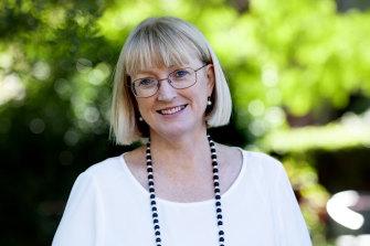 Kate Rayment, Principal, St Scholastica's College, Glebe, NSW.