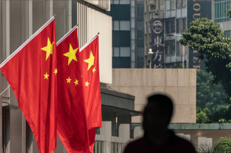 The MI5 boss says Chinese spies no longer contained their behaviour to stealing state secrets.