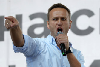 Alexei Navalny has been a strident critic of Putin's Kremlin.