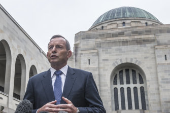 Former prime minister Tony Abbott will join the board of the Australian War Memorial.