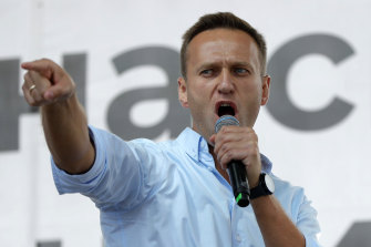 Alexei Navalny remains in Germany, where he received medical treatment after he was poisoned.