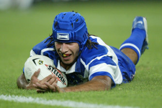 Thurston almost joined the Raiders from the Bulldogs.