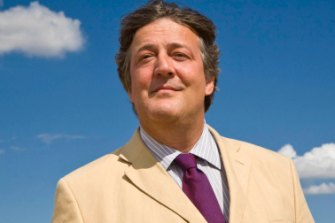 Actor and TV presenter Stephen Fry is one of the world's top audiobook narrators.