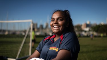 Like her mother and grandfather,  young soccer player Trishanne Miller, 15, has rheumatic heart disease.