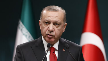 Turkey's President Recep Tayyip Erdogan has tempered his criticism of China in recent years.