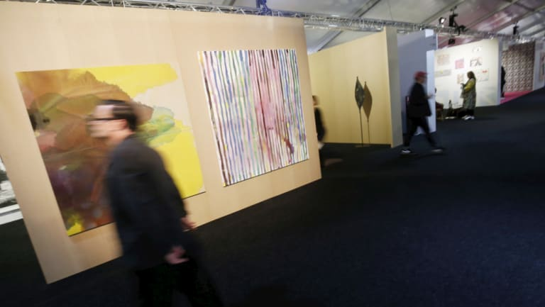 Thousands of art lovers will browse for special pieces or simply view what's on offer at Melbourne Art Fair, which runs from Thursday to Sunday.