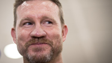 A new outlook: Nathan Buckley.