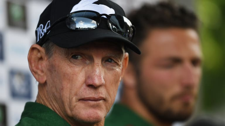 Feud: Wayne Bennett is reportedly chasing a payment from the Broncos.