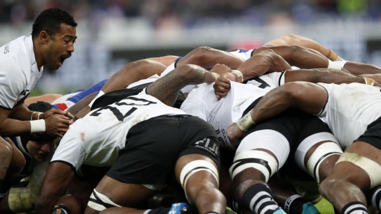 Focus: Fiji coach John McKee has targeted the team's scrum and defence for improvement over the past 12 months