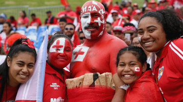 Shake-up: The 'World League' concept would throw the likes of Tonga, Fiji and Japan into regular competition with the world's top Test nations.