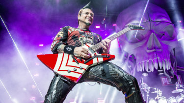 Jason Hook is featured in Hired Gun.