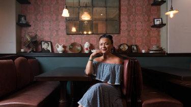 Pauline Nguyen in her Red Lantern restaurant.