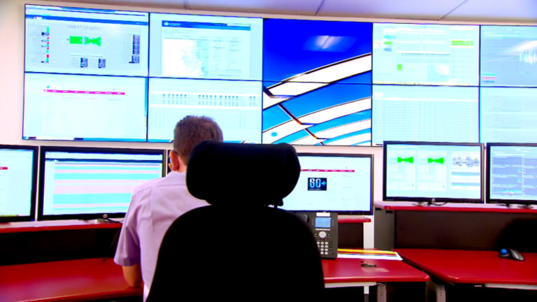 Every one of Origin assets is monitored and controlled – although not necessarily run – from this room.