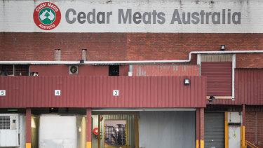Staff return to Cedar Meats in Brooklyn after it was shut down to a COVID-19 outbreak.