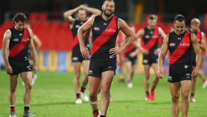 Worsfold laments Bombers early errors as clash with Suns ends in a draw