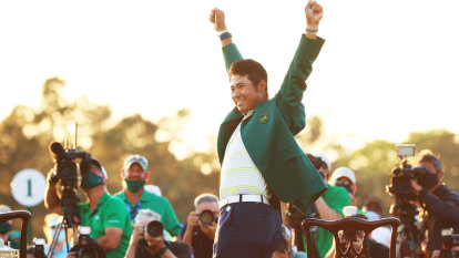 The groundbreaking Masters champ so shy he had to be coaxed into celebrating