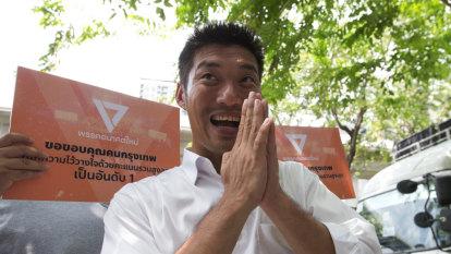 Thailand's Future Forward Party leader Thanathorn Juangroongruangkit.