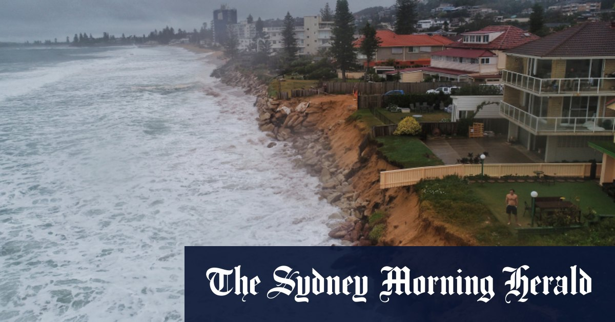 Coastal NSW on high alert as low pressure system stirs big swells – Sydney Morning Herald