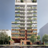 """An artists impressions of the proposed """"Ferry Road Apartments"""" in West End from plans Plans submitted to Brisbane City Council."""