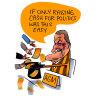 CBD Melbourne: Tins rattle loud for Hawks