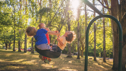 Getting into the swing of playground etiquette