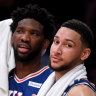 Sixers star Embiid labels Simmons' absence 'borderline kind of disrespectful'
