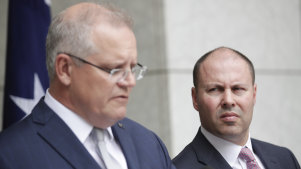 Prime Minister Scott Morrison and Treasurer Josh Frydenberg say the budget surplus is not a priority in the context of the human cost of the bushfires.