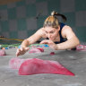 After preparing for the Games in the garage, Tokyo looms for Aussie teen sport climber