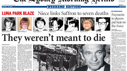 Luna Park fire: The files that linked a Sydney underworld figure to a tragedy