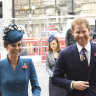 Prince Harry and Kate honour Anzacs' grim fortitude