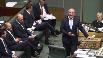 For born-again Deputy PM Barnaby Joyce, the past is another planet