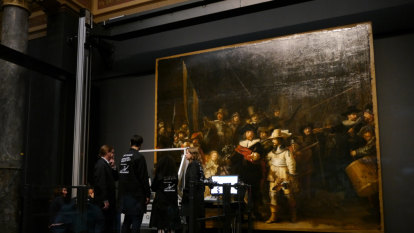 Internet masterpiece: Rembrandt's Night Watch facelift live streamed