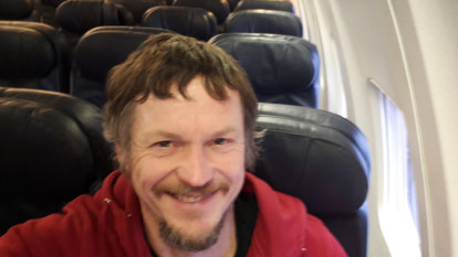 Serious legroom: Lithuanian man flies alone on huge plane to Italy