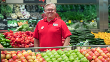 Coles chief executive Steven Cain is determined to make sure staff get time off.