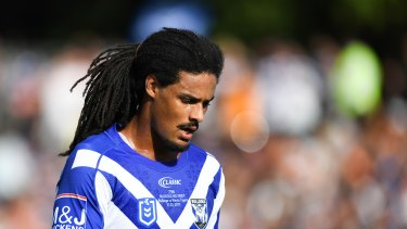 Jayden Okunbor has until Tuesday to lodge a show-cause notice with the NRL.