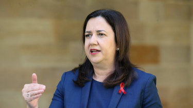 Premier Annastacia Palaszcxzuk announced Queensland would open up to NSW except Greater Sydney, from November 3.
