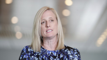 Labor Senator Katy Gallagher is chairing a Senate inquiry into the Australian response to the COVID-19 pandemic.