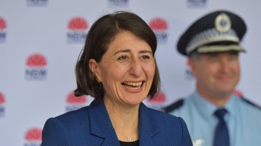 Gladys Berejiklian will announce a relaxation of northern beaches restrictions on Saturday.
