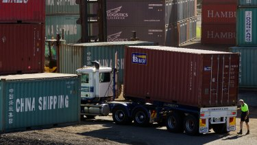 Port Botany now handles about 2.4 million containers a year and that is forecast to rise to 5 million by 2040.