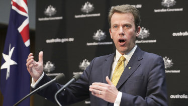 "Education Minister Dan Tehan said the package would be ""ballast"" for the besieged university sector."