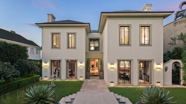 The $55 million property is attractive to wealthy Americans thinking of moving to the safety of Australia.