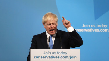 "Boris Johnson promises to work ""flat-out"" after being named the Conservative Party leader to take over as Prime Minister from Theresa May."