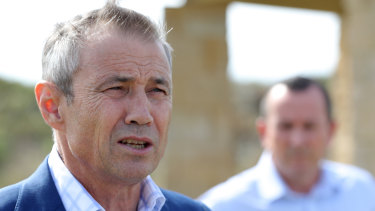 WA Health Minister Roger Cook said a man in his 70s had died after contracting coronavirus on board the Artania.