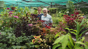 Maureen and Keith Smith would rather sell plants than have an immaculate garden.
