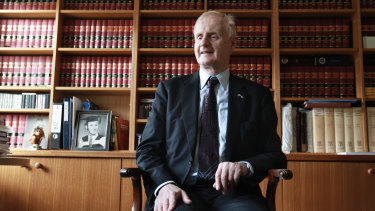Ron McCallum, the former Dean of Sydney Law School, pictured in 2011.