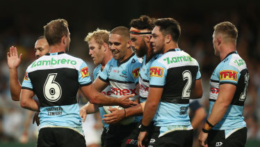 Cronulla may have got their marching orders had it not been for  the intervention of the ARLC boss.