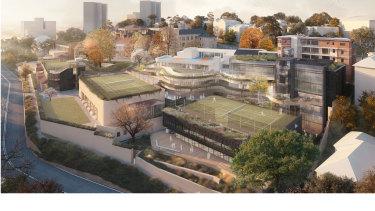 Redevelopment plans for Loreto Kirribilli.